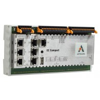 Astraada One ECC2200 - 16DI, 16DO, web server, RS232/485, CAN, Ethernet, EtherCAT, Ethernet, Modbus TCP/RTU