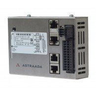 Astraada One ECC2100 - 4DI, 4DO, 4AI, web server, RS232/485, CAN, Ethernet, EtherCAT, Modbus RTU/TCP
