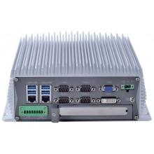 Komputer przemysłowy typu BOX, Intel i5-7400, 16GB RAM, SATA SSD 512 GB, WIN10-PRO/64/ENG, 1x PCIe, 4x RS232, 2x RS232/485, 4x USB 2.0, 4x USB 3.0, 2x LAN