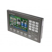 """Dotykowy panel operatorski Astraada HMI, matryca TFT 4,3"""" (480x272, 65k) z klawiaturą numeryczną, RS232/422/485, RS232, USB Client/Host"""