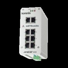 Switch przemysłowy, niezarządzalny, Ethernet - 8xRJ45 (10/100 Base-TX)