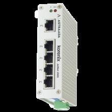 Switch niezarządzalny przemysłowy, Ethernet - 5-portowy (10/100 Base-TX), poszerzony zakres temperatur