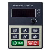 Panel z wyświetlaczem LED dla przemienników częstotliwości serii DRV-21 i DRV-23
