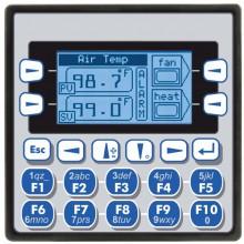 """XLe; PLC + HMI 2.25""""; 2 x RS232/485; 12 DI (12/24VDC), 12 DO (24VDC), 6 AI (0-10V, 0-20mA, TC, RTD), 4 AO (0-10V, 0-20mA); zasilanie 9-30VDC"""