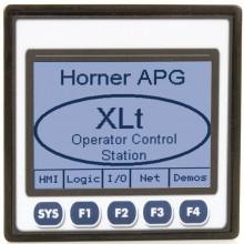 "XLt; PLC + HMI 3.5"" dotykowy; 2 x RS232/485, CAN; 12 DI (24VDC), 6 DO (relay 2A), 4 AI (0-10V, 0-20mA); zasilanie 9-30VDC"