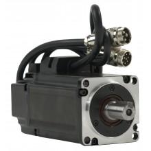 Serwosilnik SRV-64 o mocy 0.2kW (0.64Nm), zasilanie 230V, enkoder absolutny 23 bit, prędkość znam. 3000rpm, wym. kołnierza 60mm, 24 miesiące gwarancji.