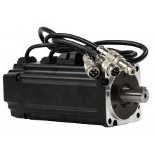 Serwosilnik SRV-64 o mocy 0.4kW (1.3 Nm) z hamulcem, zasilanie 230V, enkoder absolutny 23 bit, prędkość znam. 3000rpm, wym. kołnierza 60mm, 24 miesiące gwarancji.
