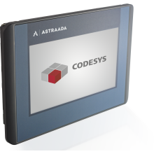 "Dotykowy terminal operatorski Astraada One, matryca TFT 15"" (1366x768), 800 MHz, 512 MB Flash, 512MB RAM, 1x USB, 1x ETH (do Astraada One PLC)"
