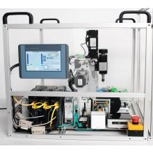 Frezarka CNC - zestaw edukacyjny dla szkół i uczelni. Prowadź zajęcia z budowy maszyn w środowisku Codesys.