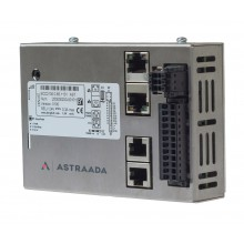 Astraada One ECC2100 - 4DI, 4DO, 4AI, web server, RS232/485, CAN, EtherCAT, Modbus RTU/TCP
