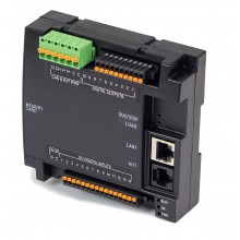 Zestaw startowy - Sterownik PLC, e-szkolenie, zasilacz - RCC1410; RS232, RS485, Ethernet, CsCAN, MicroSD;  14x DI 24 VDC, 10x DO 24 VDC; zasilanie 9-30 VDC