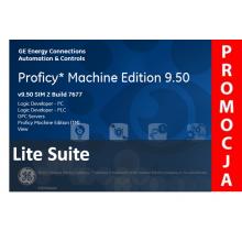 Licencja Proficy Machine Edition Lite Suite wer. 9.5. Promocja na jednorazowy zakup oprogramowania.