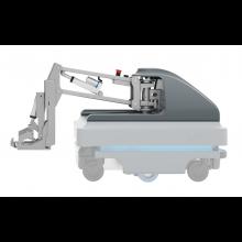 MiRHook 200 - moduł rozszerzający możliwości transportowe o holowanie wózków o wadze do 500 kg
