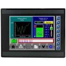 """EXL10; 10"""" kolor, 1 MB pamięci, RS232, RS485, RS232/485, 3x Ethernet, 2x USB, MicroSD, 2x CAN; 12 DI (24V, 4 HSC), 12 DO (24V, 2 PWM), 6 AI (0-10V, 0-20mA, 4-20mA, RTD, THM), 4 AI (0-10V, 0-20mA, 4-20mA)"""