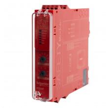 XPSUAF13AP - Moduł bezpieczeństwa Schneider Electric Preventa, kat.4, 24 V AC/DC, 3 NO, zaciski śrubowe (następca XPSAF5130)
