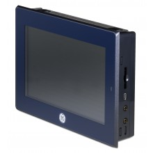 "QuickPanel+; 7"" Multi-touch, 1GHz, 512 MB RAM, 256 MB Flash, 1xETH, RS232, 2xUSB, 24VDC"
