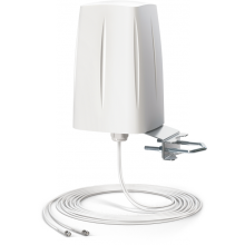 ANTENA 2G/3G/4G LTE Wielopasmowa zewnętrzna antena MIMO , dookólna z dwoma kablami 5m\10m i złączem SMA na pasma LTE\3G\2G