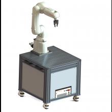 Zestaw edukacyjny Kawasaki Robotics do nauki aplikacji podawania detali