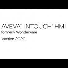 Wonderware InTouch 2020 Development z Runtime z I/O - 64 zmienne - uaktualnienie