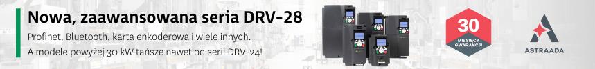 Nowa seria falowników Astraada DRV-28